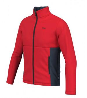 Colmar Mens Sweatshirt Bright Red-Blue Black mikina