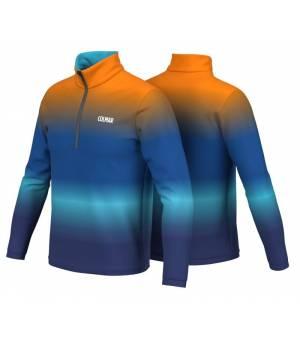 Colmar Mens Technologic Half Zip Sweatshirt Sapphire mikina