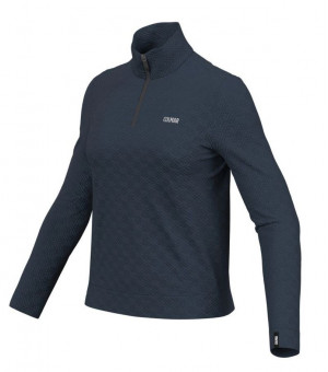 Colmar Half Zip Jacquard Ski Sweatshirt W Tričko Blue Black