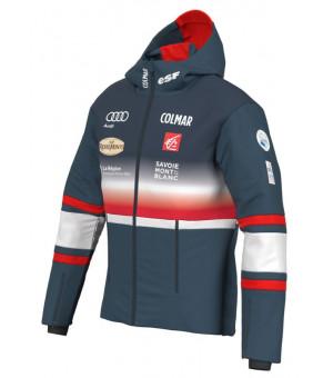 Colmar French National Team Ski Mens Jacket Blue Black bunda