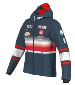French National Team Ladies Ski Jacket Bunda Blue Black