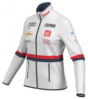 Colmar Full-Zip Stretch Fleece Sweatshirt Replica Mikina White