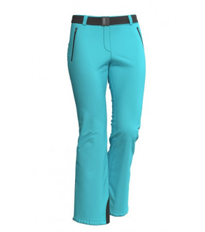 Colmar Ladies Mech Stretch Target Pant Water blue nohavice