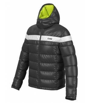 Colmar Mens Hooded Puffy Down Jacket Black bunda