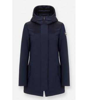 Colmar Ladies Down Jacket Navy Blue bunda