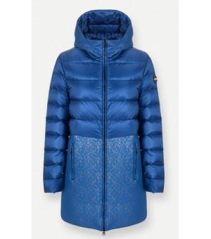 Colmar Research Neoprene-Effect Long Down Ladies Jacket Bunda Atlas