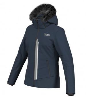 Colmar 3-Tre Ladies Ski Jacket Blue Black bunda