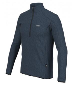 Colmar Half Zip G+Graphene Mens Sweatshirt Blue Black mikina