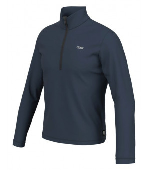 Colmar Mens Half Zip Stretch Fleece Blue Black mikina