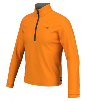Colmar Mens Half Zip Stretch Fleece Orange Pop mikina