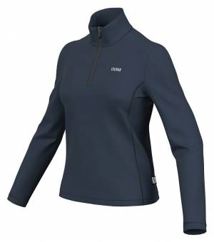 Colmar Ladies Sweatshirt Blue Black mikina
