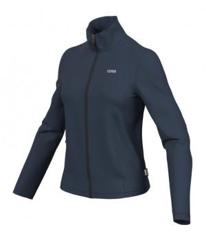 Colmar Ladies Full Zips Stretch Fleece Sweatshirt Blue Black mikina