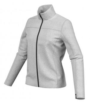 Colmar Full Zip Plush Fleece Ski Sweatshirt W Mikina White