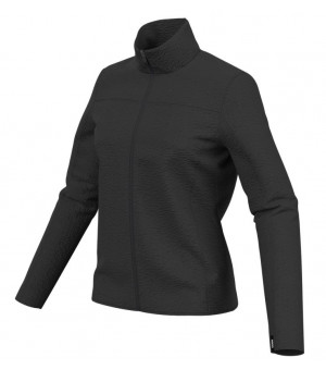 Colmar Full Zip Plush Fleece Ski Sweatshirt W Mikina Black