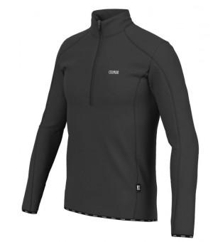 Colmar Mens Thermal Stretch Ski Sweater Black mikina