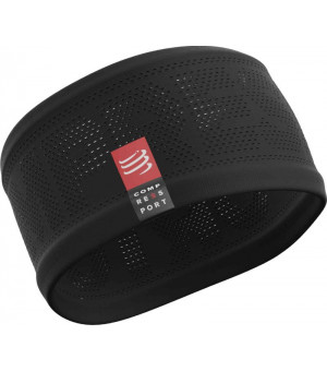 Compressport headband ON/OF čelenka čierna