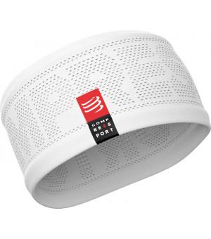 Compressport headband ON/OF čelenka biela