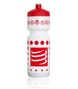Compressport Bottle 750 ml fľaša biela