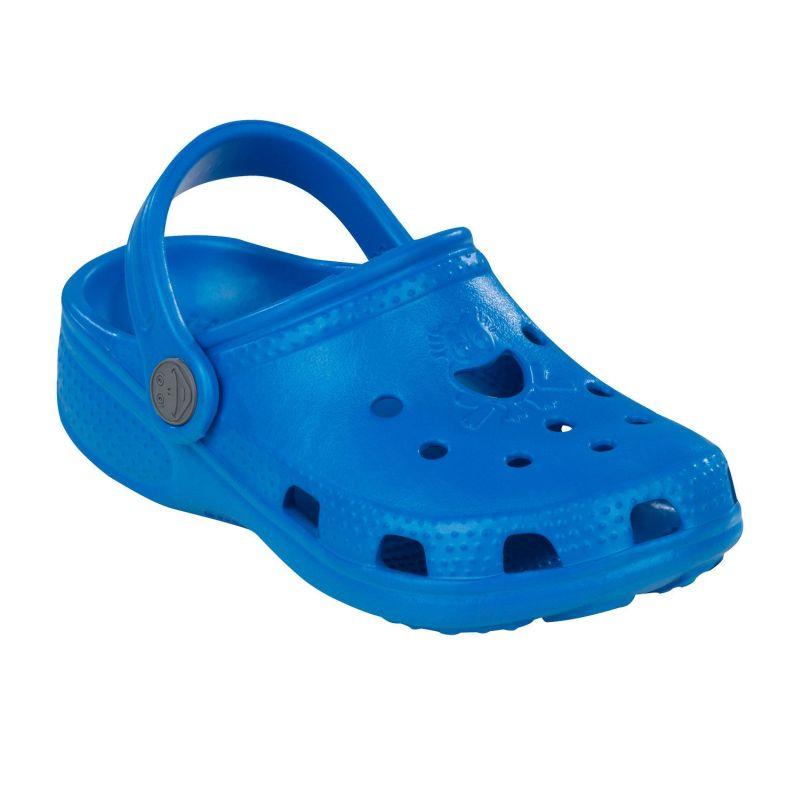 c3283ed14 Coqui Clog Big Frog detské sandále šľapky modré | Galfy.sk