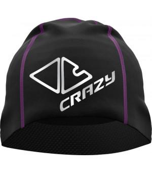 Crazy Idea Spire Thermo W Cap black/violet čiapka