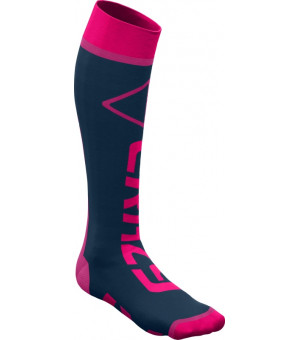 Crazy Idea Carbon Socks berry fluo ponožky