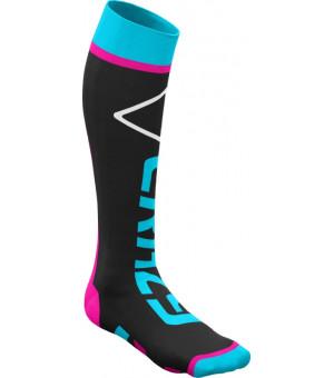 Crazy Idea Carbon Socks black/turquoise ponožky