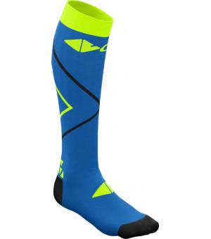 Crazy Idea Compression Socks bluette/lime ponožky