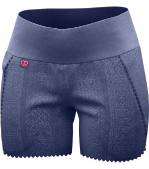 Crazy Idea Honey Short W blue kraťasy