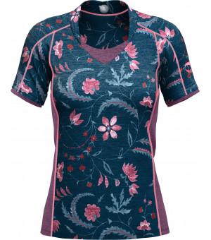 Crazy Idea Kaira T-Shirt W print flower tričko