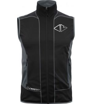 Crazy Idea Avenger Vest M black vesta