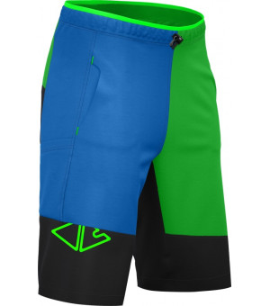 Crazy Idea Eagles M Short green kraťasy