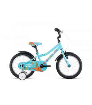 """Dema Drobec KID 16"""" bicykel modrý 2019"""
