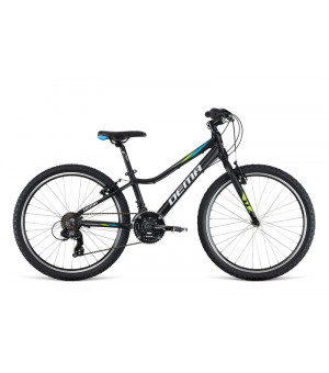 """Dema Pegas JR 24"""" bicykel čierny 2019"""