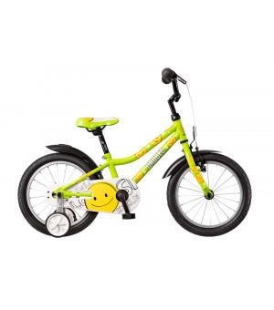 """Dema Drobec 16"""" Bicykel Green 2019"""