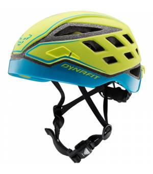 Dynafit Radical Helmet lime punch/methyl blue 19/20