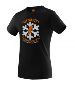 Dynafit Graphic Cotton Tee M black out/syndicate tričko