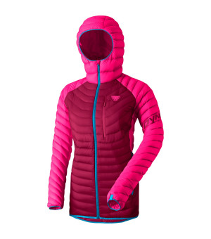 Dynafit Radical Down Hooded Jacket W lipstick bunda