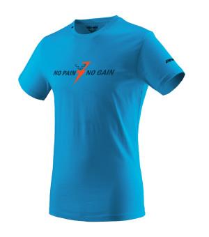 Dynafit Graphic Cotton Tee M methyl blue tričko