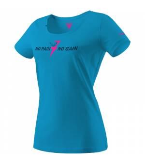 Dynafit Graphic Cotton W T-Shirt methyl blue/npng tričko