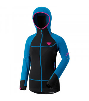 Dynafit Mezzalama Race Jacket W fluo methyl blue bunda