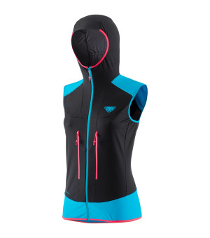 Dynafit Speed Softshell Vest W methyl blue vesta