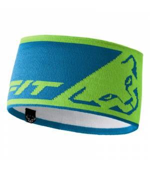 Dynafit Leopard Logo Headband lambo green čelenka