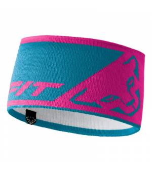 Dynafit Leopard Logo Headband lipstick čelenka