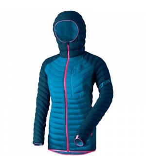 Dynafit Radical Down Hooded W Jacket poseidon bunda