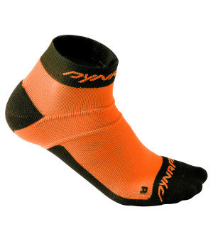 Dynafit Vertical Mesh Footie fluo orange ponožky