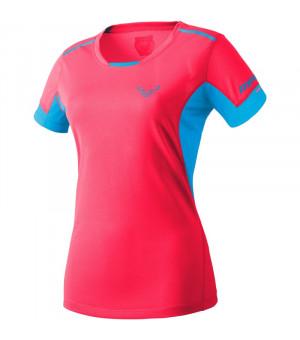 Dynafit Vertical 2.0 Tee W fluo pink tričko
