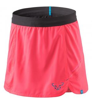 Dynafit Alpine Pro 2in1 Skirt W fluo pink sukňa