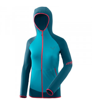 Dynafit Transalper Light Polartec Hoody W methyl blue mikina