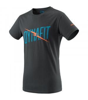 Dynafit Graphic Cotton Tee M asphalt/lightning tričko
