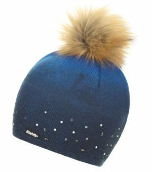Eisbar  Dip Dye Lux Crysta Mu čiapka modrá